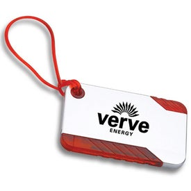 Luggage Tag With Pen
