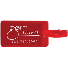 Promotional Colorful Luggage Tags