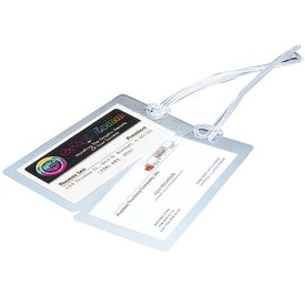 Promotional Luggage Tag with Strap
