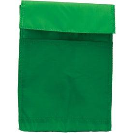 Fold Over Nylon Lunch Bag