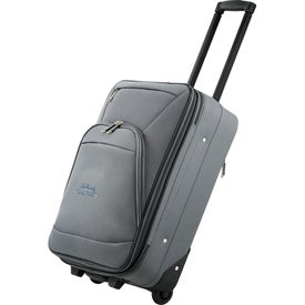 """Luxe 21"""" Expandable Carry-On Luggage for Marketing"""