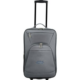 """Luxe 21"""" Expandable Carry-On Luggage for Advertising"""
