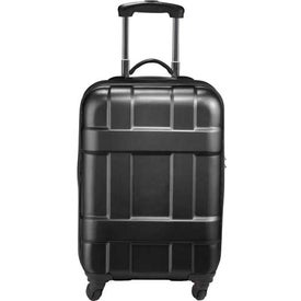 Promotional Luxe Hardside 4-Wheeled Spinner Carry-On Luggage