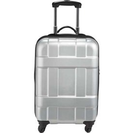 Luxe Hardside 4-Wheeled Spinner Carry-On Luggage with Your Logo