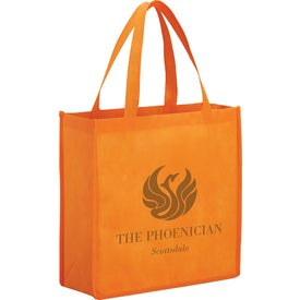 Main Street Shopper Tote Printed with Your Logo
