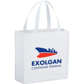 Main Street Shopper Tote Imprinted with Your Logo