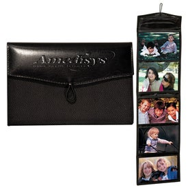 Manhasset Hanging Photo Wallet Branded with Your Logo