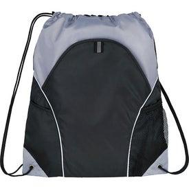 Promotional Marathon Drawstring Cinch Backpack
