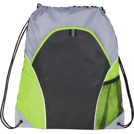 Advertising Marathon Drawstring Cinch Backpack
