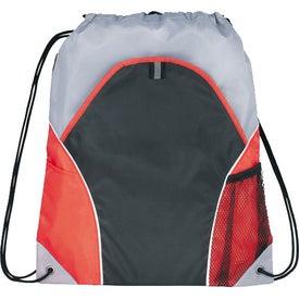 Custom Marathon Drawstring Cinch Backpack