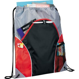 Customized Marathon Drawstring Cinch Backpack