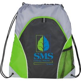 Monogrammed Marathon Drawstring Cinch Backpack