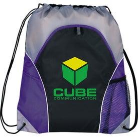 Marathon Drawstring Cinch Backpack for Marketing