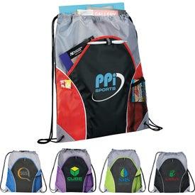 Branded Marathon Drawstring Cinch Backpack