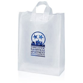 Customized Mercury Frosted Shopper Bag