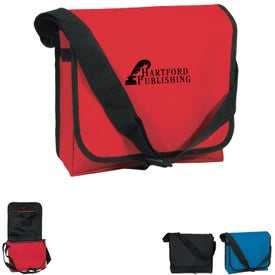 Advertising Messenger Bag with Adjustable Strap