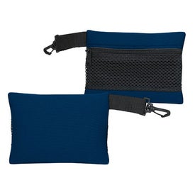 Mesh Back Travel Bag Imprinted with Your Logo