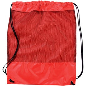 Mesh Cinch Pack Imprinted with Your Logo