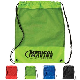 Mesh Cinch Pack for Advertising