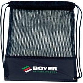 Promotional Customizable Mesh Drawstring Backpack