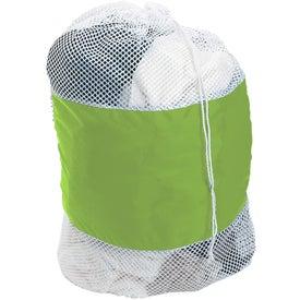 Branded Mesh Laundry Bag