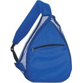 Mesh Sling Backpack Imprinted with Your Logo