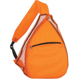 Mesh Sling Backpack for Marketing