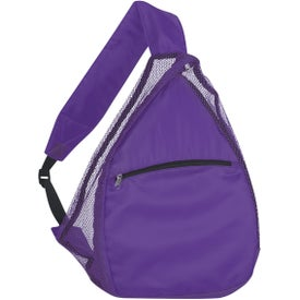 Mesh Sling Backpack with Your Logo