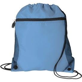 Customized Mesh Pocket Drawcord Bag