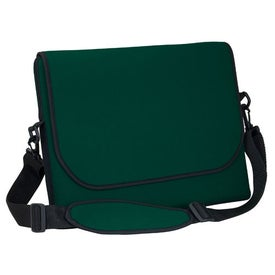 Branded Messenger Bag Style Laptop Sleeve