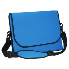 Branded Messenger Bag Style Laptop Sleeve