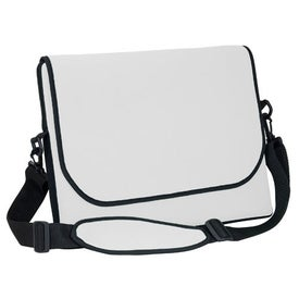 Messenger Bag Style Laptop Sleeve with Your Logo