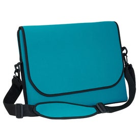 Personalized Messenger Bag Style Laptop Sleeve