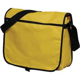 Monogrammed Adjustable Messenger Bag