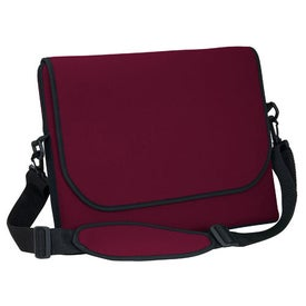 Messenger Bag Style Laptop Sleeve for Marketing