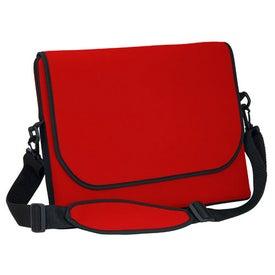 Logo Messenger Bag Style Laptop Sleeve
