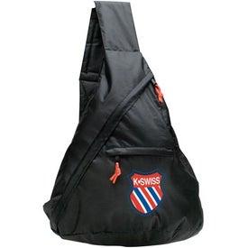 Printed Messenger Sling Bag