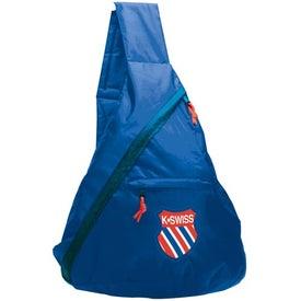 Imprinted Messenger Sling Bag