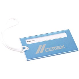 Metallic Luggage Tag for Your Organization