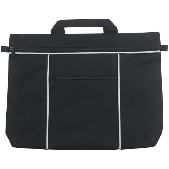 Black Metro Document Bag