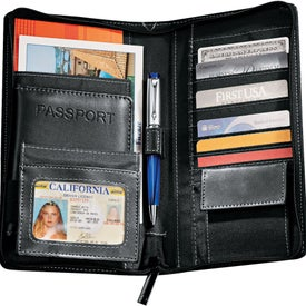 Metropolitan Deluxe Travel Wallet for Customization
