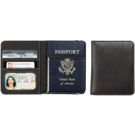 Monogrammed Metropolitan Deluxe Travel Wallet