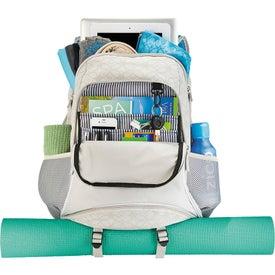 Monogrammed The Mia Sport Compu-Backpack