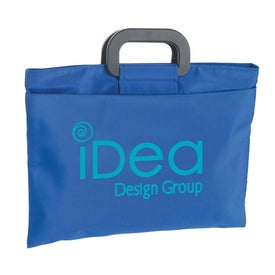 Branded Microfiber Document Bag