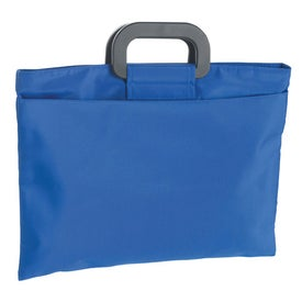Branded Microfiber Document Bag