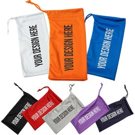 Microfiber Pouches with Drawstring