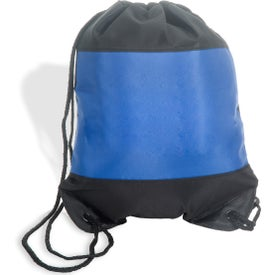 Personalized Microfiber String Backpack