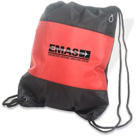Advertising Microfiber String Backpack