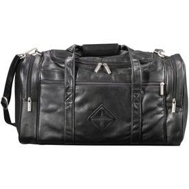 "Monogrammed Millennium Leather 20"" Duffel"
