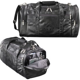 "Millennium Leather 20"" Duffel"